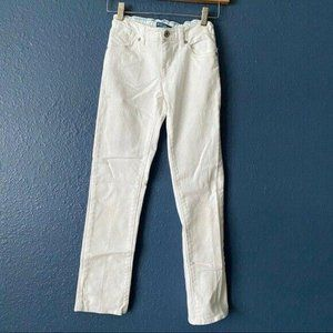 Levi's White Skinny Jeans Youth Girl's Size 10